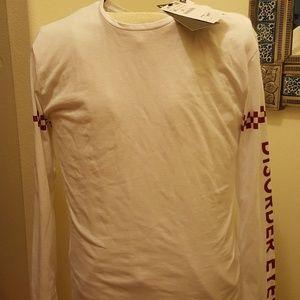"""Zara men Longsleeves graphic shirt"""" DISORDER EYES,"""
